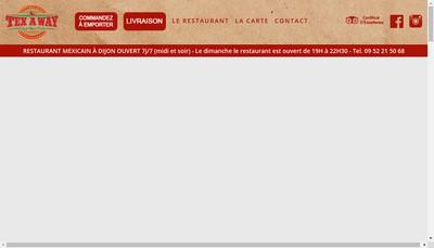 Site internet de Tex a Way