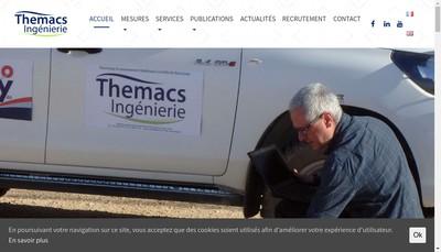 Site internet de Themacs Ingenierie