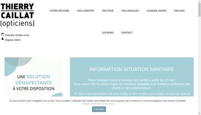 Site internet de Thierry Caillat Espace de Vue