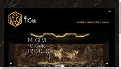 Site internet de Le Tigrr Indochine