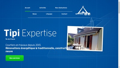 Site internet de Tipi Expertise
