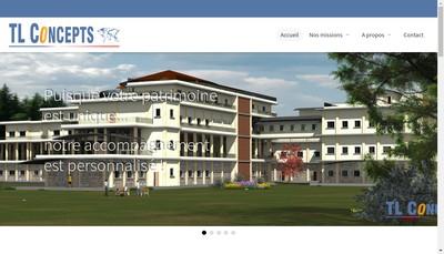 Site internet de Tl Concepts
