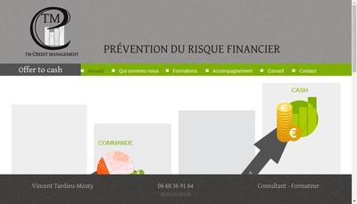 Site internet de Tm Credit Management