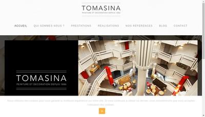Site internet de Nouvelle Entreprise Tomasina