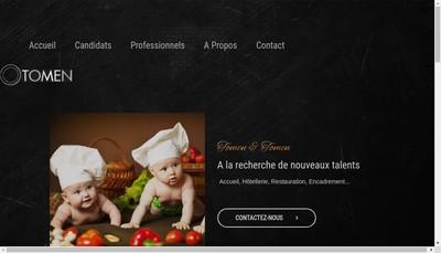 Site internet de Tomen & Tomen International