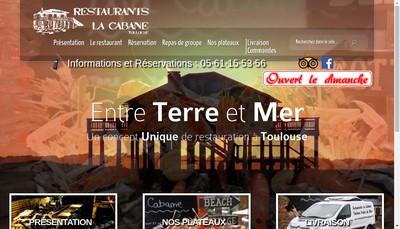 Site internet de Toulouse Fruits de Mer