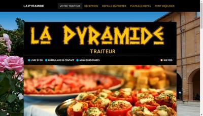 Site internet de La Pyramide des Saveurs