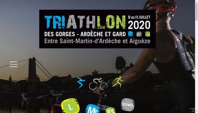 Site internet de Ardeche Sport Attitude