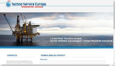 Site internet de Techno Service Europe