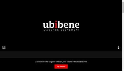 Site internet de Ubi Bene