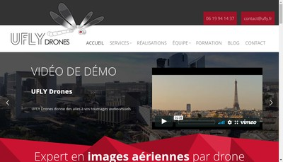 Site internet de Ufly