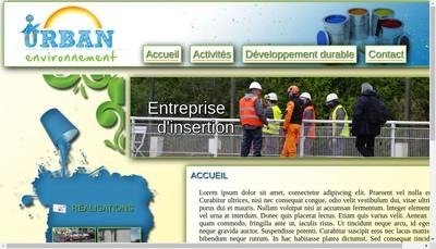 Site internet de Urban Environnement