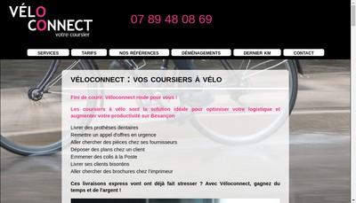 Site internet de Veloconnect