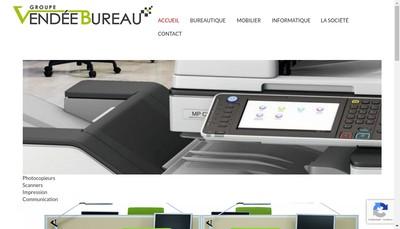 Site internet de Vendee Bureau