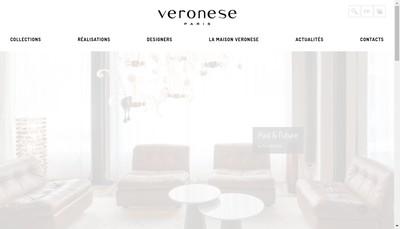 Site internet de Veronese