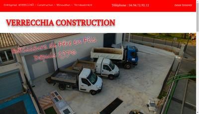 Site internet de EURL Verrecchia