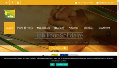 Site internet de Vetis