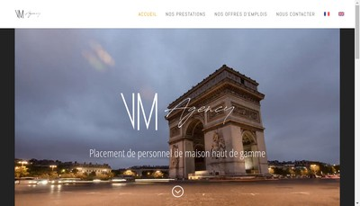 Site internet de Vm Agency