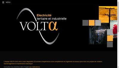 Site internet de Volta