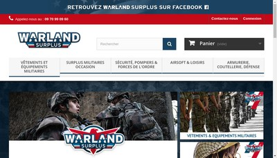 Site internet de Warland