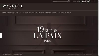 Site internet de Montmartre Bijoux Waskoll Love-Inside