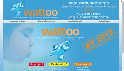 Site internet de Wattoo
