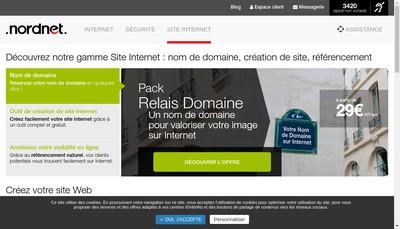 Site internet de Savigny Surgeles Frais