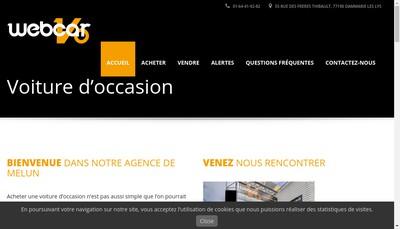 Site internet de Webcarvo