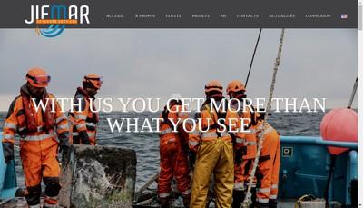 Site internet de Jifmar Offshore Services