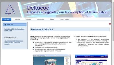 Site internet de Deltacad