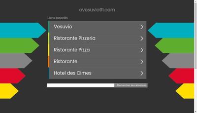 Site internet de O'Vesuvio