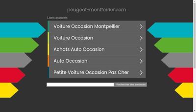 Site internet de Peugeot Montferrier-Carrosserie Pont Lez
