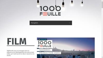 Site internet de Mille Feuille