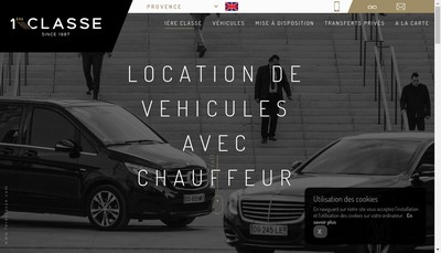 Site internet de Transport 1Ere Classe