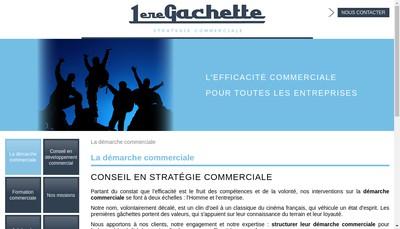 Site internet de 1Ere Gachette
