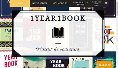 Site internet de 1Year1Book