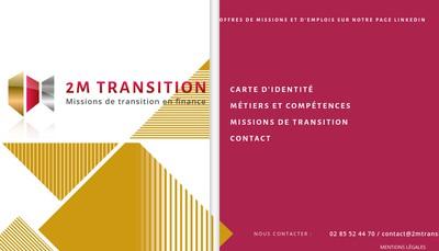 Site internet de 2M Transition