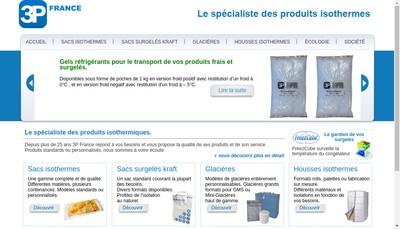 Site internet de 3P France