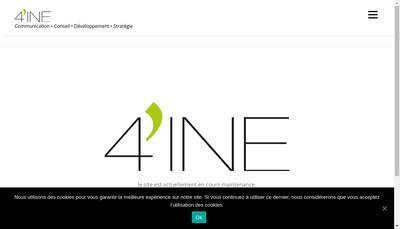 Site internet de 4'Ine