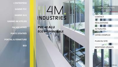 Site internet de 4 M Industries