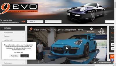 Site internet de 9 Evo