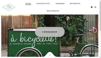 Site internet de A Bicyclette