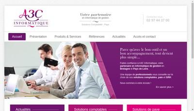 Site internet de Accc Informatique