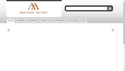 Site internet de Agents Associes Suzy Vatinet