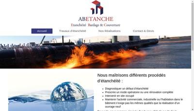 Site internet de Ab Etanche