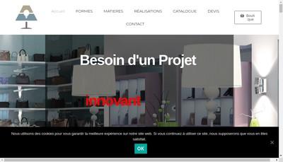 Site internet de Abat Jours