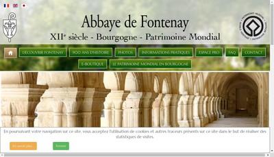 Site internet de Societe Gestion de l'Abbaye de Fontenay