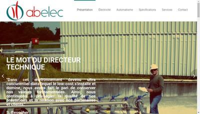 Site internet de Abelec