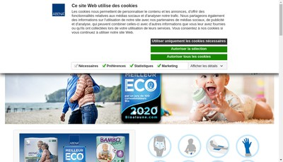 Site internet de Abena-Frantex