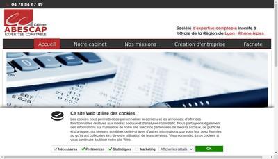 Site internet de Abescap